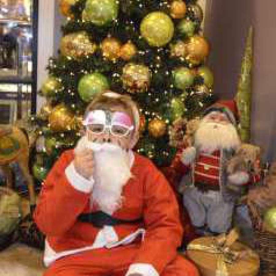 Fotobox - Kostüm Weihnachtsmann