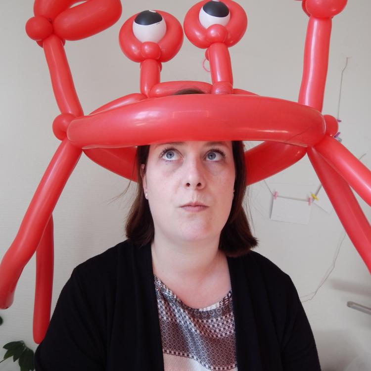 Ballonhut Krabbe