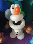 Ballonfigur aus die Eiskönigin - Olaf