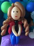 Ballonfigur aus die Eiskönigin - Anna